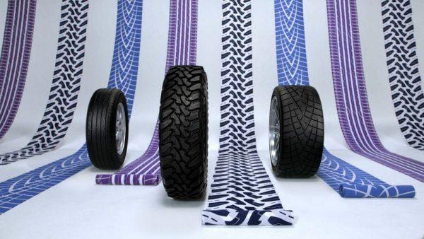 企業広告「Tire Kimono」